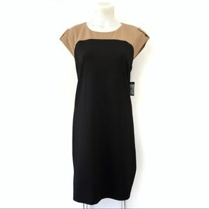 Vince Camuto Dress size 8 Short Sleeve Two Tone